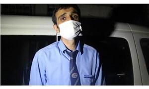 Otobüste Covid-19 paniği: Testi pozitif çıkan yolcu muavini alnından öptü, 50 lira bahşiş verdi