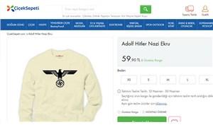 Çiçek Sepeti'nde Nazi sembollü giysi satışı!