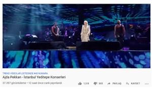 Saray'ın Ajda Pekkan konseri izlenmedi