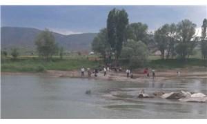 Kızılırmak'a girdikten sonra suda kaybolan 3 çocuğun cansız bedenlerine ulaşıldı