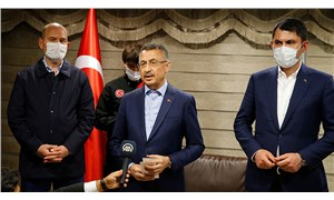 Cumhurbaşkanı yardımcısı Oktay ile bakanlar Soylu ve Kurum Bingöl'de