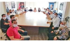 Kamu kurumlarının müdürleri AKP ilçe teşkilatını ziyaret etti: CHP'den tepki