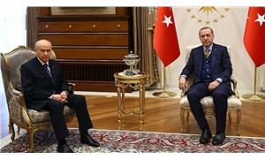 Erdoğan ve Bahçeli, Saray'da görüştü