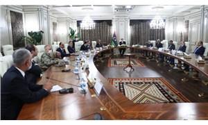 Saray, Dışişleri, MİT ve Maliye Bakanlığı Libya'da