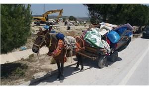 Çeşme'de 300 Roman yurttaş evsiz kaldı