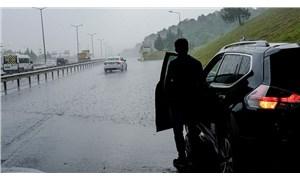 İstanbul'da şiddetli yağış ve dolu