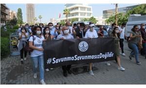 İzmir ve Aydın Baroları'nın Ankara'ya yürüyüşü başladı: Kral çıplak demeye devam edeceğiz