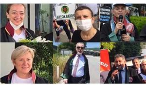 80 baro başkanının Ankara'ya başlattığı yürüyüş devam ediyor