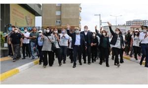 Demokrasi yürüyüşü 6. gününde Ankara'da