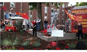 Almanya'nın ortasına Lenin heykeli