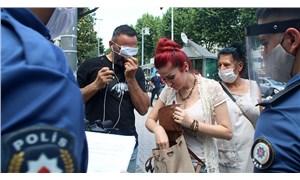 Kadıköy ve Beşiktaş'ta maske takmayanlara ceza kesildi