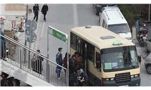Kadın yolcuyu tehdit eden sürücüye ceza kesildi, minibüs trafikten men edildi