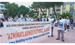 Tazminatlarını alamayan maden işçilerinden eylem: Sonuç alamazsak Ankara'ya yürüyeceğiz