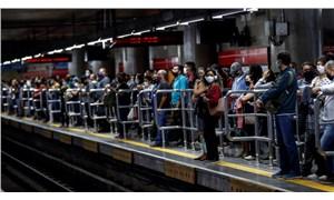 Brezilya Coğrafya ve İstatistik Enstitüsü: Mayıs ayında 4,2 milyon kişi Covid-19'a benzer semptomlar gösterdi