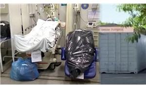 Brezilya'da yaşamını yitirenler çöp poşetine konuldu