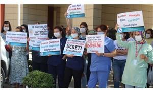 Emekçiler tek ses: Sağlık çalışanları tükendi