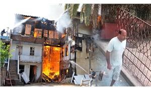 """Tarihi ahşap binayı yaktı, """"yakmadan duramıyorum"""" dedi"""