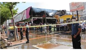 Batman'da alışveriş merkezinde çıkan yangın, 5 saat sonra kontrol altına alındı
