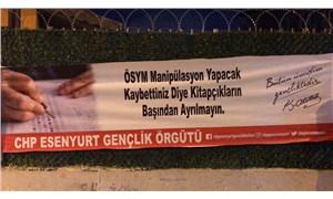 YKS pankartı nedeniyle gözaltına alınan CHP'li gençler serbest bırakıldı