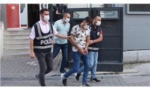 Kız arkadaşını darp ettiği görüntüler tepki çekince gözaltına alınan erkek, ifadesinin ardından serbest bırakıldı
