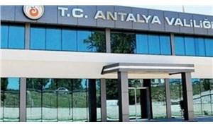Antalya'da 15 gün eylem ve etkinlikler yasaklandı