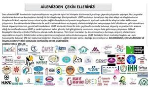 AKP'ye yakın 50 dernek ve vakıftan Onur Haftası'na destek veren firmalara boykot çağrısı