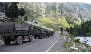 Hindistan, Çin sınırına tank yığdı