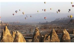 Kapadokya'da sıcak hava balonu turları, bir kez daha ertelendi