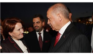 Akşener'den Erdoğan'ın 'Onlar film çeviredursun' sözlerine fotoğraflı yanıt