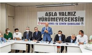 DİSK'ten Tunç Soyer'e destek ziyareti