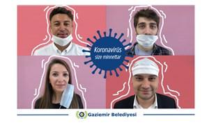 Gaziemir Belediyesi'nden ironik maske paylaşımı