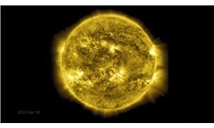 NASA, Güneş'in 10 yıllık fotoğraflarını film haline getirdi