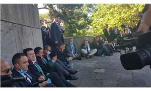 Baro başkanlarının Meclis'te bekleyişi sürüyor: 'İçeriye alınana kadar bekleyeceğiz'