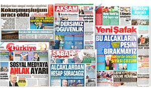Yandaş gazeteler Erdoğan'ın sosyal medya açıklamasını nasıl gördü?