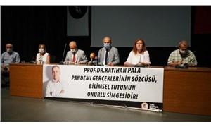 TTB Bursa'da basın açıklaması düzenledi: Kayıhan Pala yalnız değildir