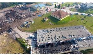 Havai fişek fabrikasındaki patlama ile ilgili soruşturma başlatıldı
