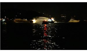Bebek açıklarında bir teknede yangın çıktı
