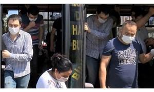 Esenyurt'ta minibüsten 14 yerine 30 yolcu çıktı