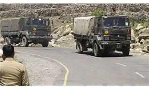 Hindistan'ın Çin ile çatışmanın yaşandığı Ladakh'taki hava üssünde hareketlilik