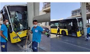 Beylikdüzü'nde İETT otobüsü kazası: 19 yaralı