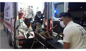 Adana'da devrilen bir sepetli motosiklette biri çocuk 4 kişi yaralandı