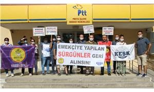 PTT emekçileri: Sürgün kararları iptal edilmezse Ankara'ya yürüyeceğiz