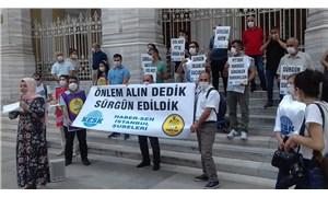 """PTT emekçileri ülkenin dört bir yanında eylemde:""""Sürgünler durdurulmazsa Ankara'ya yürüyeceğiz"""""""