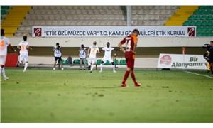 Galatasaray zorlu deplasmandan çıkamadı