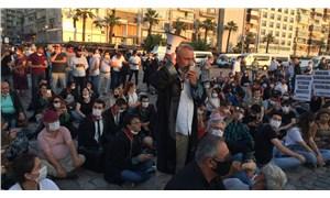 İzmir Barosu'ndan oturma eylemi: Sürecin saçmalığını anlatmaya devam ediyoruz