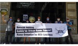 Kuzey Ormanları Savunması'nın basın açıklamasında 4 gözaltı