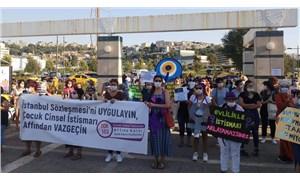 """""""İstanbul Sözleşmesi'ni uygulayın, çocuk cinsel istismarı affından vazgeçin"""""""
