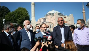 Diyanet İşleri Başkanı Ayasofya'yı inceledi: 2 imam, 4 müezzin atanacak, ikon ve freskler namazda kapatılacak