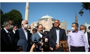 Halk Ayasofya için 'kriz hamlesi' dedi: 'Ayasofya'ya bak' taktiği
