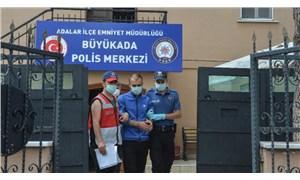 Heybeliada'daki yangınla ilgili gözaltına alının kişi tutuklandı